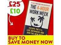 The 4 Hour Work Week - FREE DELIVERY - Success Book - Save £15 WHEN YOU BUY TODAY