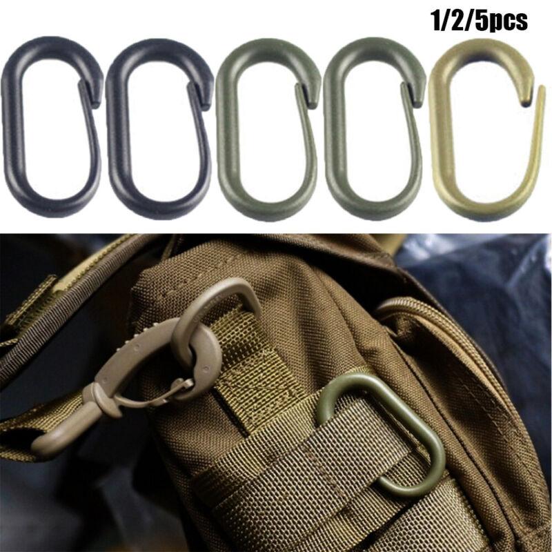 Travel Clip Clasp Hook Backpack Quickdraw Carabiner Snap Buckle Bottle Holder
