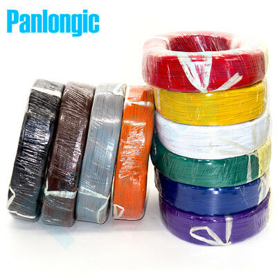 10 Colors 5 Meters Ul1007 Electronic Wire 24awg 1.4mm Pvc Electronic Wire 24