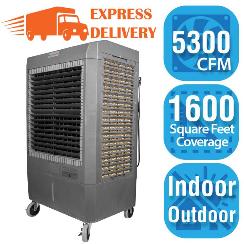 Portable Evaporative Cooler  5,300 CFM 3-Speed for 1,600 sq.
