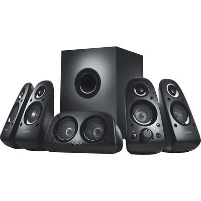 5.1 Speaker System With Subwoofer Music Computer Desktop Xbox PS3 PC DVD Sale