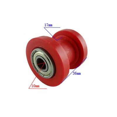 Red Idler Pulley CHAIN ROLLER GUIDE TENSIONER Scroll DIRT MINI Motorize BIKE