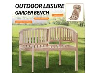 Garden Bench 120 cm Solid Teak-44581