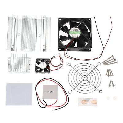 Dc 12v 60w Tec1-12706 Thermoelectric Cooler Fan Peltier Cooling System Diy Kit