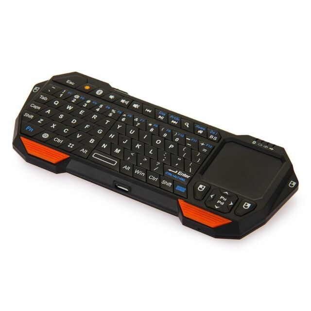 Mini Portable Wireless Bluetooth 3.0 Keyboard with Mouse Touchpad BT