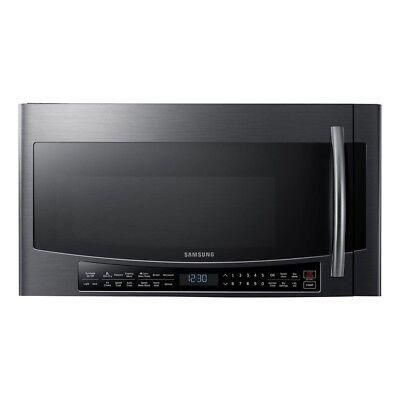 Samsung MC17J8000CG 1.7CF Over-the-Range Microwave Black Stainless Steel