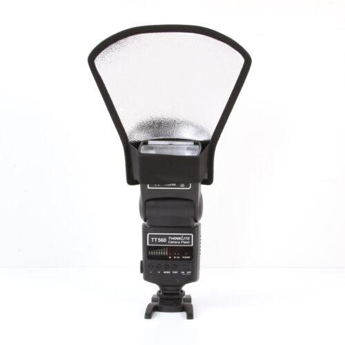 Flash diffuser softbox silverwhite reflector for Canon Nikon Pentax Yongnuo SLR