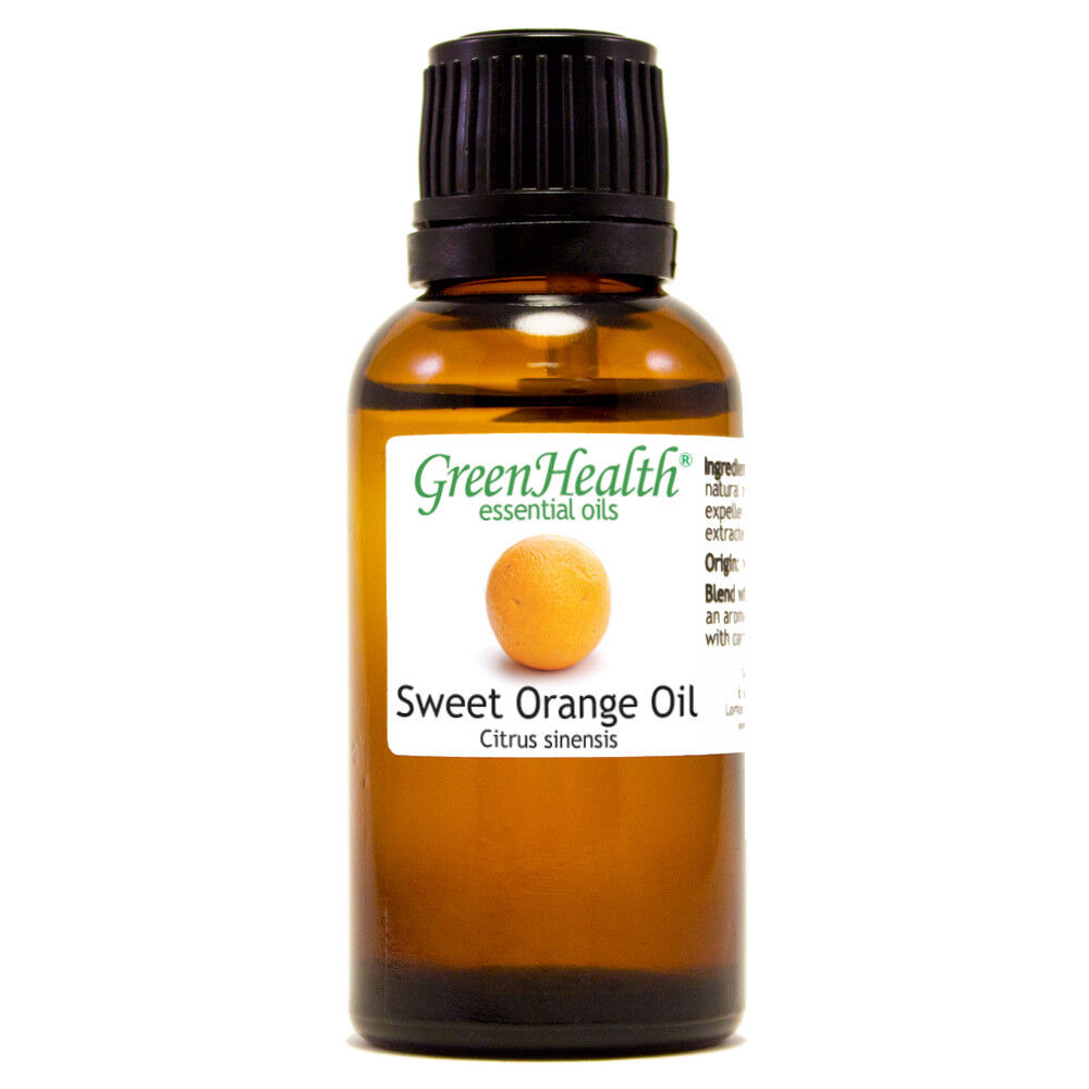 Essential Oils 30 mL (1 oz) - Pure & All Natural - Aromatherapy Oil Orange Sweet