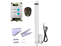 """12/"""" 220lbs 12V DC Linear Actuator W// Wireless Control Kit for Auto Car Door Open"""