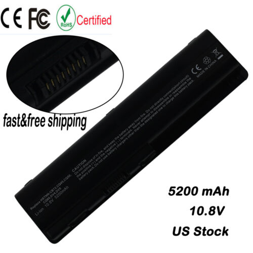 Laptop Battery For HP Pavilion DV4 DV5 DV6 CQ40 CQ60 CQ61 484170-001 HSTNN-LB72 - $11.88
