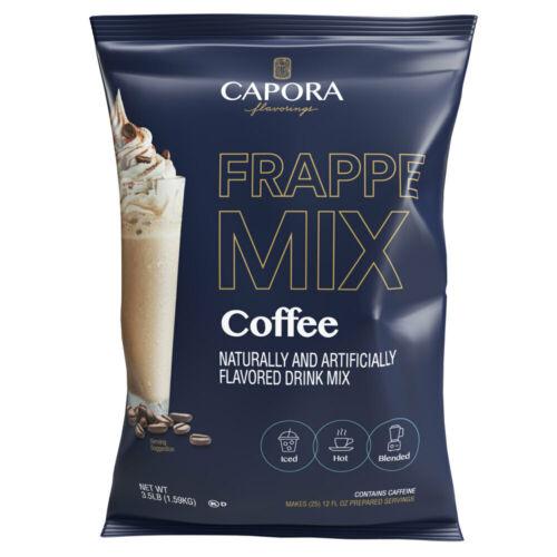 Capora 3.5 lb. Latte / Frappe Mix (select flavor below)