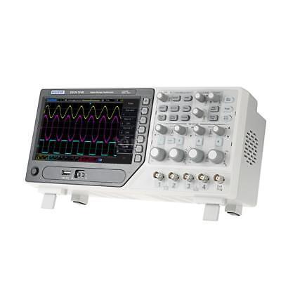 Hantek Dso4104b Oscilloscope 100mhz 4channels 1gsas 64k Digital Storage New