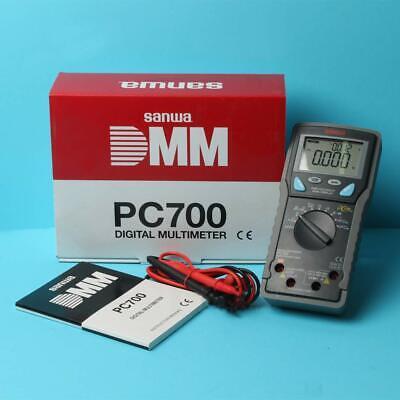 Sanwa Digital Multi Meter Pc-700 Capacity Temperature Fs Tracking Japan New