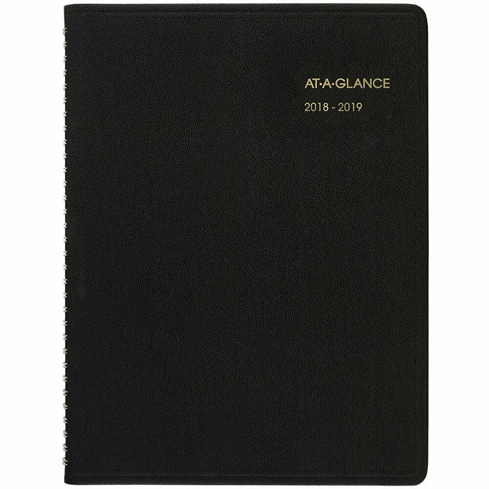 AT-A-GLANCE 2018-2019 Academic Year Weekly Planner/Appointme