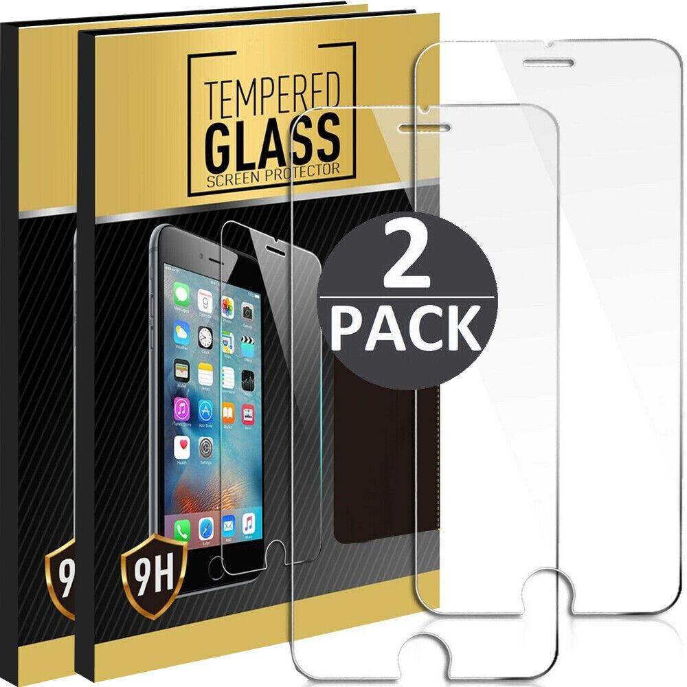 2x Panzerfolie Für iPhone 6 / 7 / 8 Echt Glas 9H Schutzglas Displayschutzfolie
