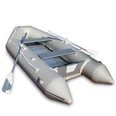 Schlauchboot Aluboden PVC Ruderboot Paddelboot Gummiboot Angelboot Sportboot