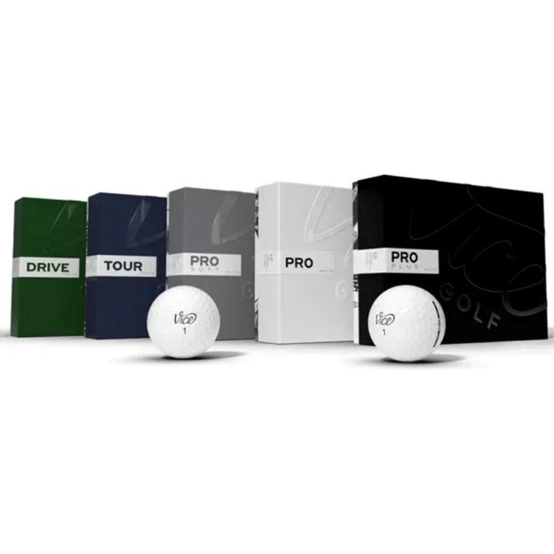 NEW Vice Golf Premium Golf Balls - Choose Model, Quantity & Color!