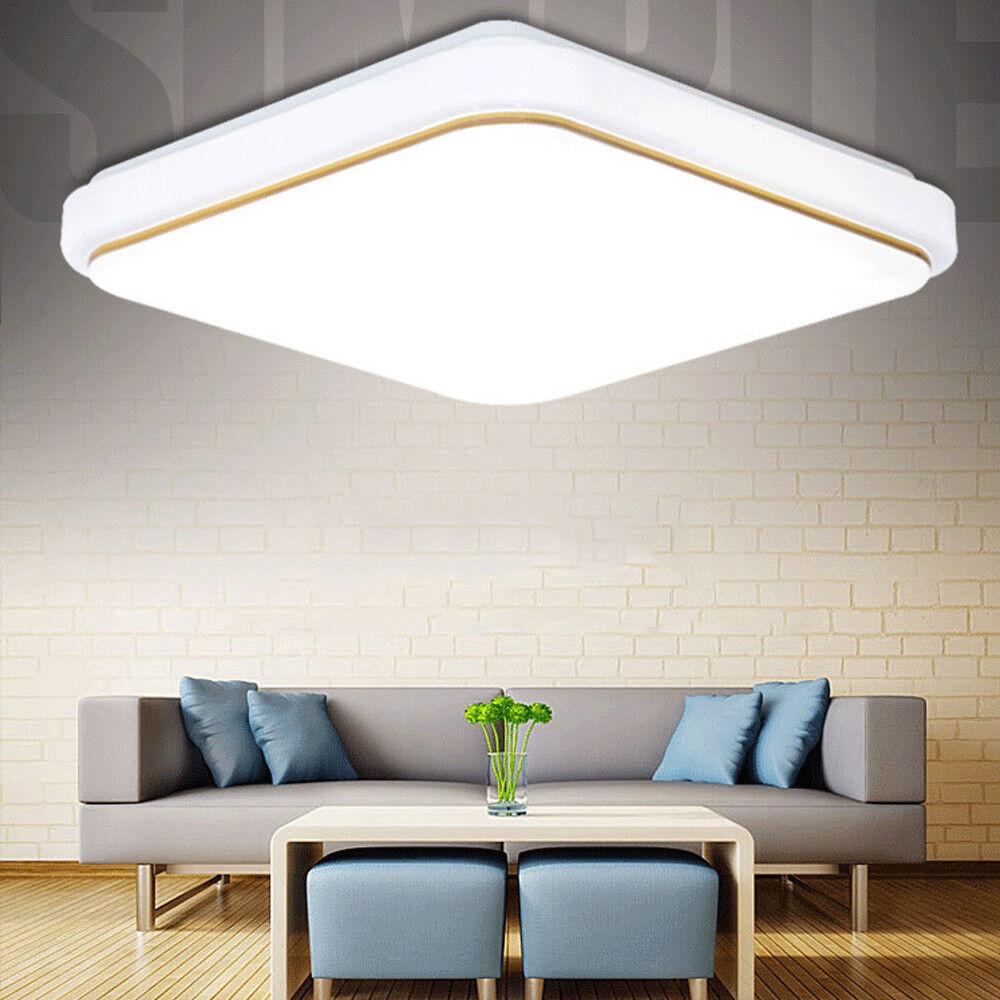 2pcs 24w Led Ceiling Light Flush Mount Fixture Indoor Home Kitchen Lighting Lamp