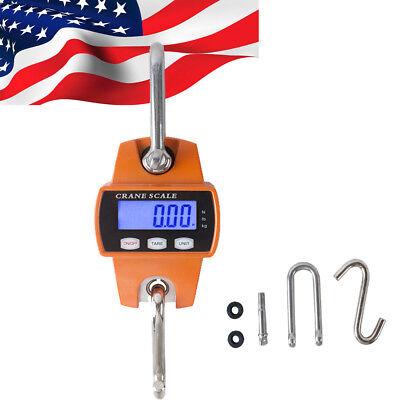 Digital 300KG/600LBS Crane Scale Industrial steel Hook&loop Hanging Weight Scale