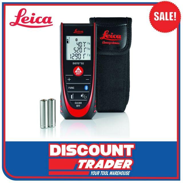 Leica DISTO™ D2 New Bluetooth® Smart Laser Distance Meter 100m Range - 837031