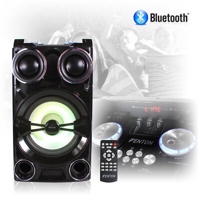 Bluetooth Party Disco Speaker Mega Loud Boombox with USB RGB LED Lights
