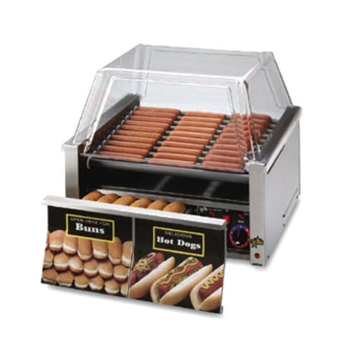 Star 75stbde 75 Hot Dog Capacity Hot Dog Grill