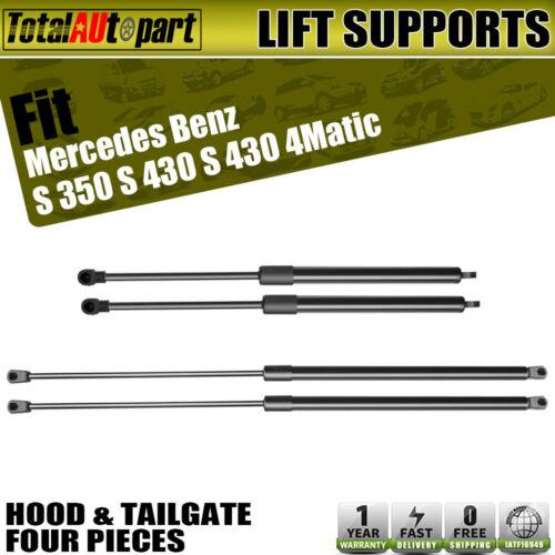 MAK Hood Gas Shock Lift Support Strut Spring For Mercedes S Class W220