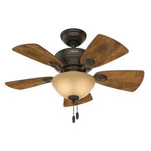 Small ceiling fan ebay rustic ceiling fan low profile small lodge flush mount 34 5 reversible blades aloadofball Gallery