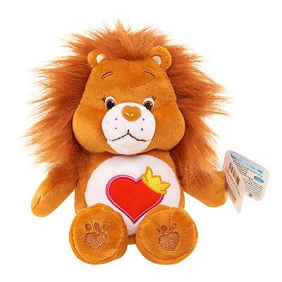 Care Bear Beans Mini Stuffed Lion - Brave Heart