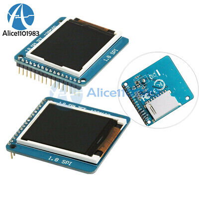 1.8 Inch Serial Tft Spi St7735r 128160 Lcd Display Module With Pcb For Arduino