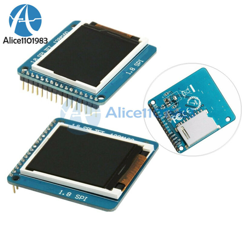 "1.8 ""inch Serial TFT SPI ST7735R 128*160 LCD Display Module with PCB for Arduino"
