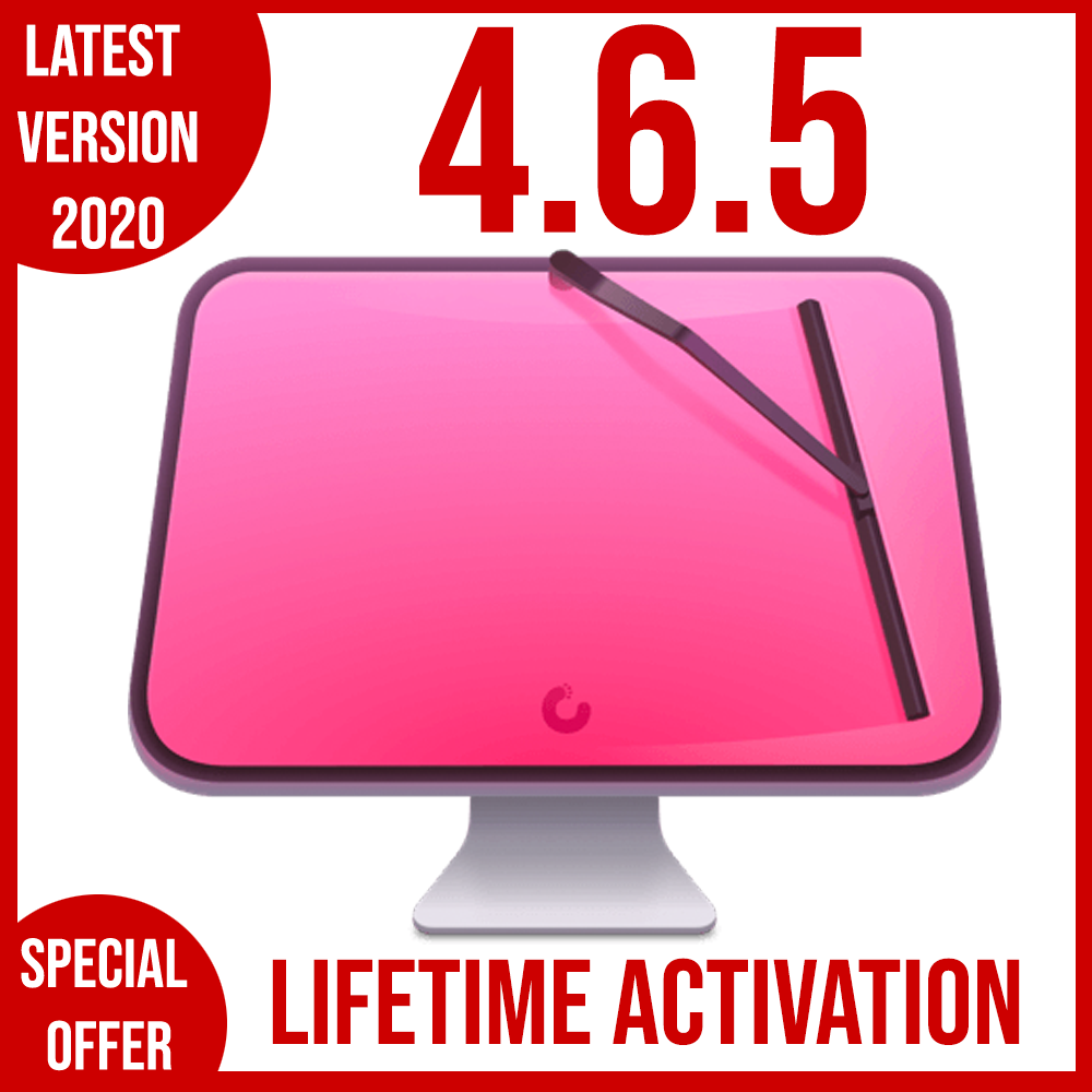CleanmyMac X 4.6.5 | Full VERSION | 2020 | LIFETIME ACTIVATION ???? FAST DELIVERY