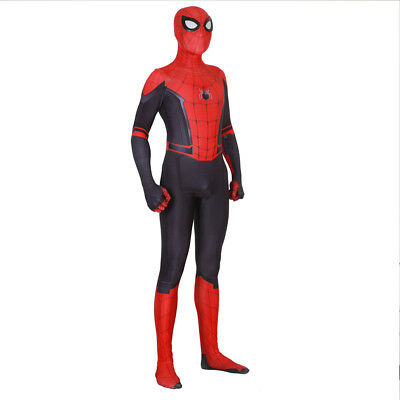 Adult Kids Spider-Man Far From Home Zentai Cosplay Costume Suit Great For Lover - Children Spider Costume