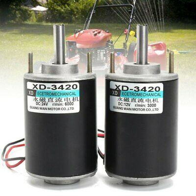 30006000rpm Dc12v24v Electric Dc Permanent Magnet Motor Generator