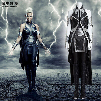 HZYM X-Men: Apocalypse Storm Cosplay Costume Deluxe Leather Outfit Custom Made - Cosplay Storm Costume