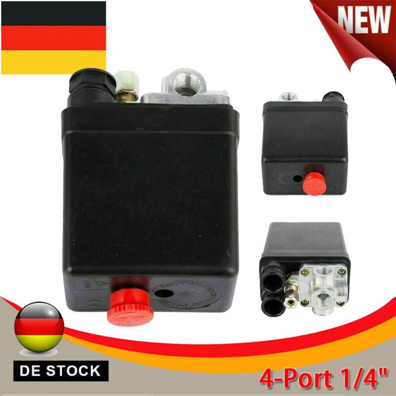 Neu Güde Druckschalter 230V / 4 für Kompressor 300/10/50 Schalter