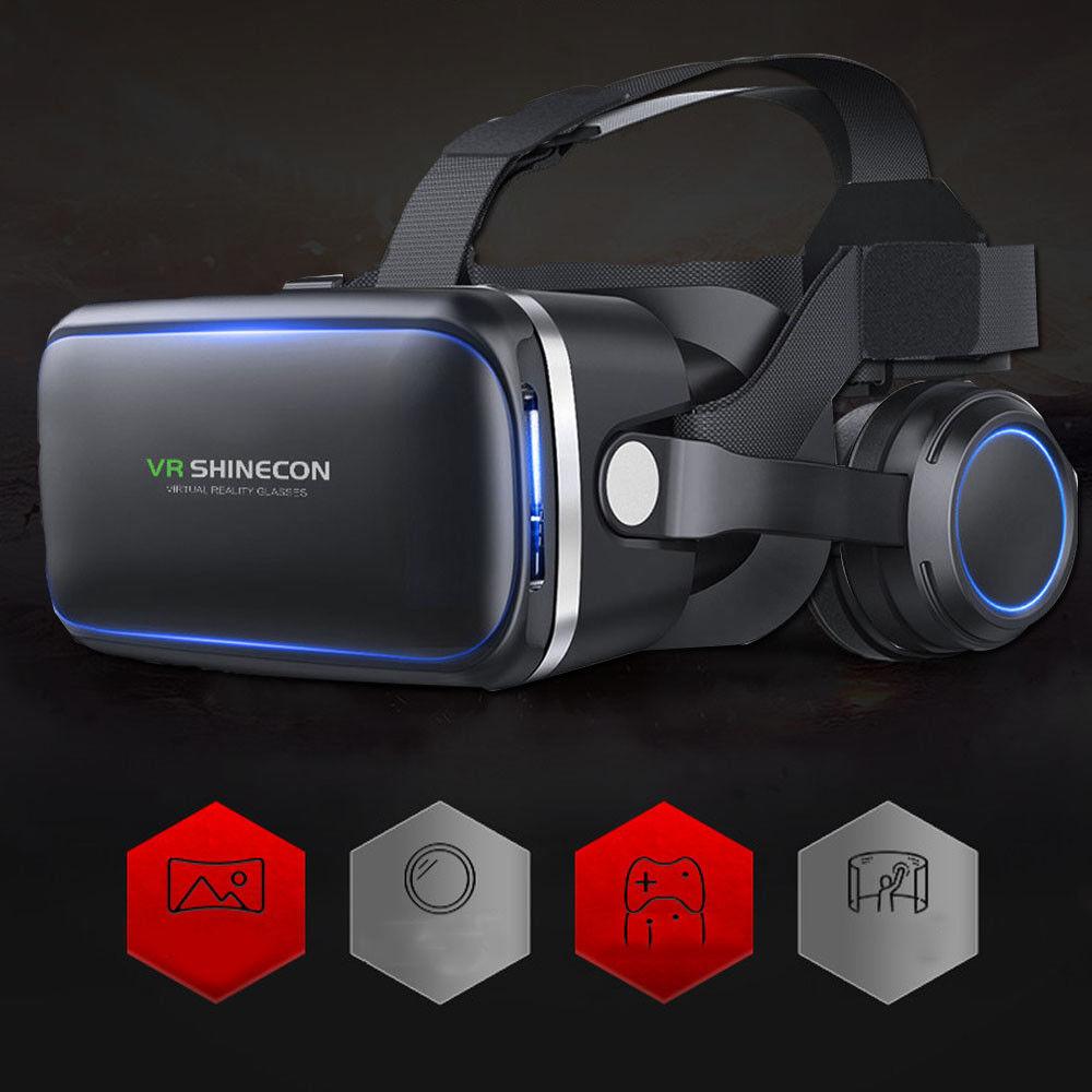 vr virtual reality headset 3d glasses