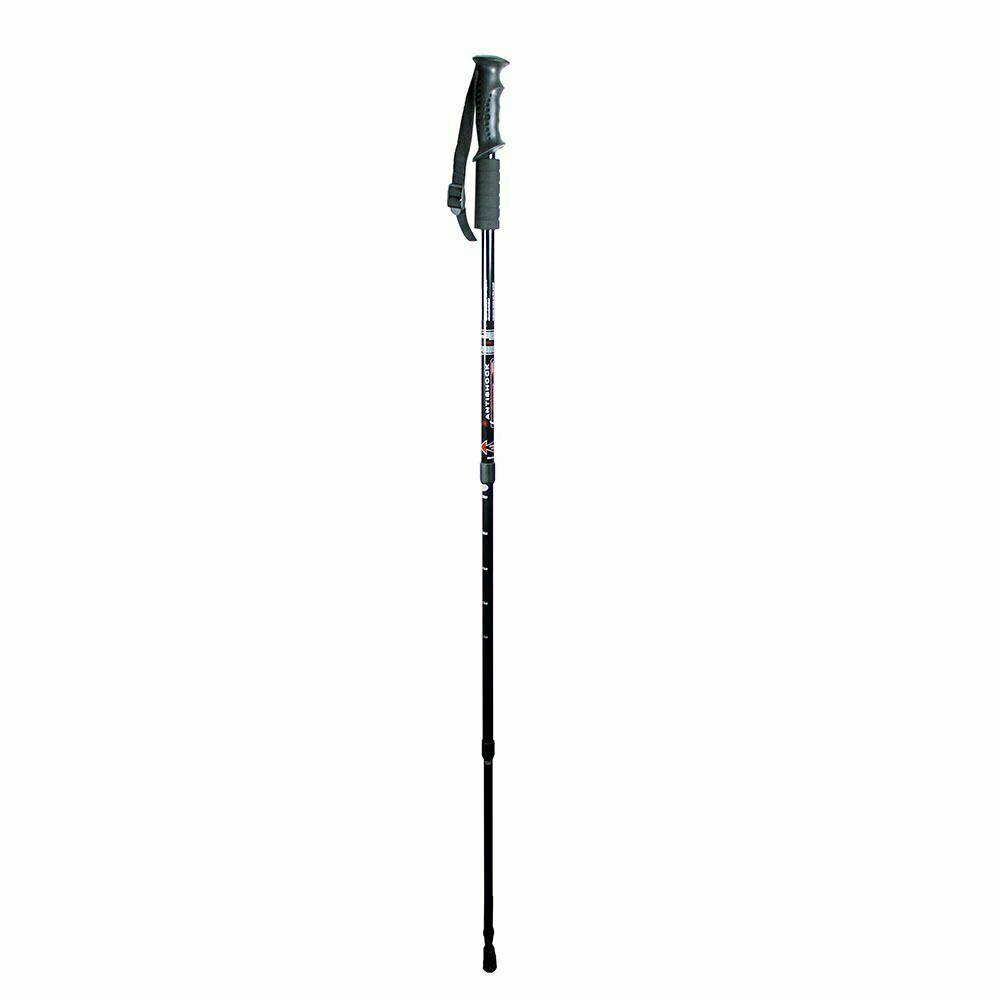 Anti-shock Walking Hiking Stick 3 Section Adjustable Retractable Trekking Pole