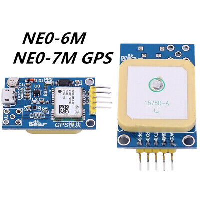 Neo-6mneo-7m Micro Usb Gps Satellite Positioning Module Stm32 C51 For Arduino