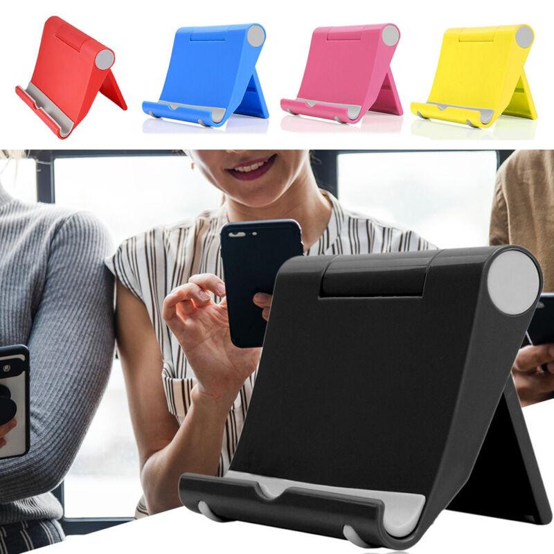 Universal Handy Smartphone Tablet Halterung Halter Tischständer verstellbar