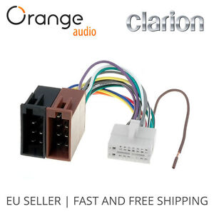 clarion-16-pin-to-iso-lead-wiring-loom-power-adaptor-wire ... rv 7 pin wire diagram