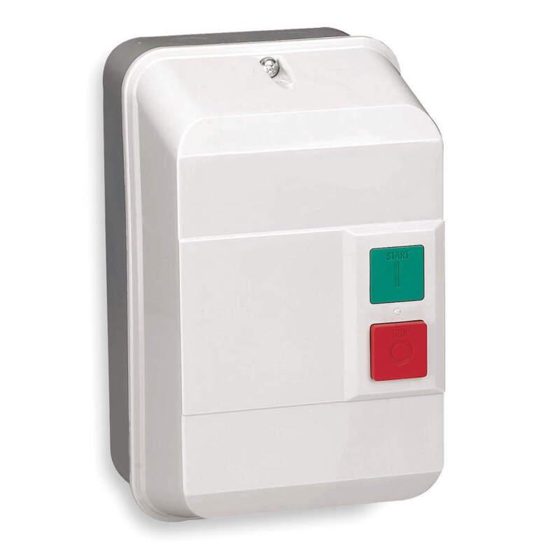 Dayton IEC Contactor - Model 2UXV6 - 240Vac, 12A, NEMA12, 3P - NEW