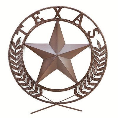 WESTERN SOUTHWEST HOME DECOR TEXAS STAR WALL PLAQUE