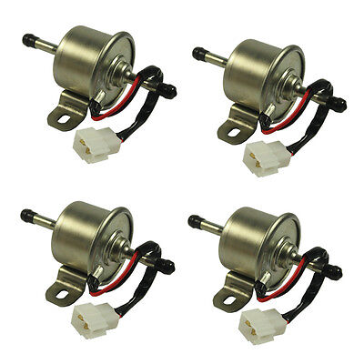 New 4 Pcs Fuel Pump For John Deere Gator Hpx Pro 2020 4020 Am876265
