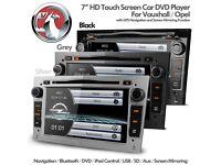 "VAUXHALL OPEL 7"" Touch Screen GPS Navigation Car Radio DVD Player USB AUX BT Player Screen Mirroring"