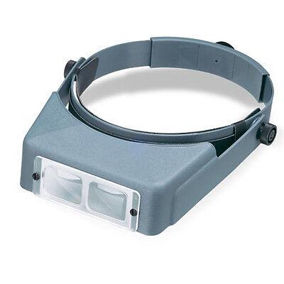 Donegan Optivisor Headband Magnifier - Donegan LX-7 OptiVisor® AL Binocular 2.75X Magnifier. Adjustable Headband Style
