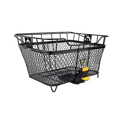 NEW Topeak MTX Rear Basket w MTX QuickTrack Quick Release - Black