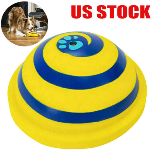 Sounding Disc Woof Glider Soft Safe Indoor Pet Dogs Play Toy