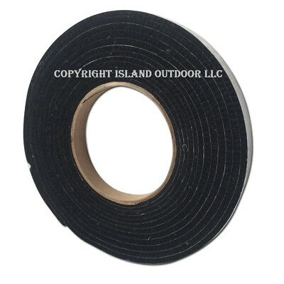 High Heat Barbecue Smoker Gasket Bbq Door Lid Seal Adhesive Self Stick 1/2 x 1/8