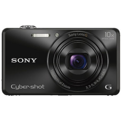 Sony Cyber Shot Dsc Wx220b 18 2Mp Digital Camera With Wi Fi And Nfc3   Black